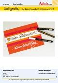 Kalligrafie - De kunst van het schoonschrift