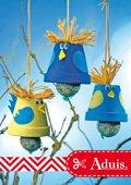 Voederklok voor hongerige vogels