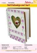 Notitieboekje met hart