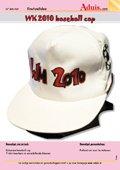 WK 2010 baseball cap