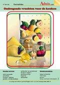 Ondeugende vruchten voor de keuken