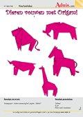 Dieren vouwen met origami