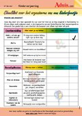 Checklist voor het organiseren van een kinderfeest