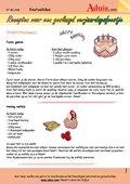 Recepten voor een verjaardagsfeestje
