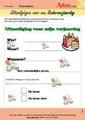 Uitnodigingen voor een kinderverjaardag