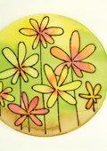 Raamschilderij bloemen