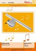Muziekinstrumenten gemaakt van pollepels