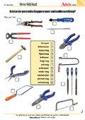Ken je de gereedschappen voor metaalbewerking?