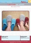Pantoffels van viltwol