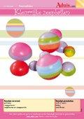 Kleurrijke zeepballen