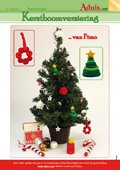 Kerstboomversiering van Fimo
