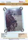 Frontriem voor paarden
