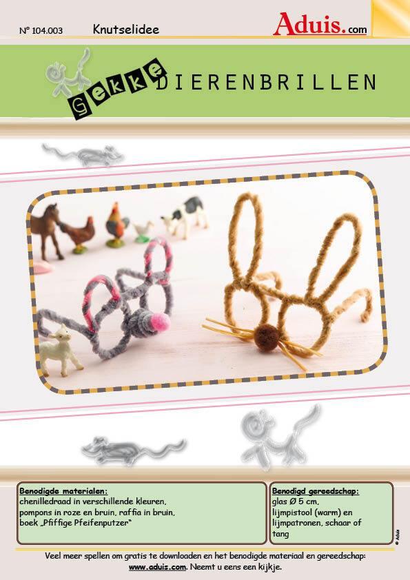 Gekke dierenbrillen