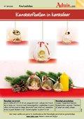 Kunststofballen in kerstsfeer