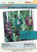 Kerstboomhangers gemaakt van uitsteekvormpjes