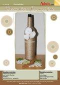 Decoratieve fles met jute