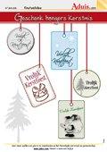 Geschenk hangers kerstmis