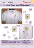 Poloshirt met servettentechniek