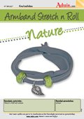 "Armband Stretch'n' Roll - ""Nature"""