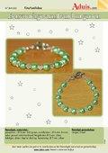 Eenvoudige armband in groen