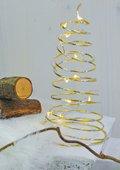 Draadboom met lichtketting