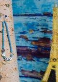 Letter armband met verschillende kralen