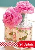 Waterbestendige crêpe roosjes
