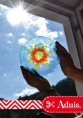 Gladheldere zonneschijven van colouraplast