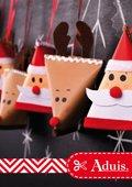 Adventskalender kerstman en rendier