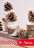 Dennenappel-kaarsen - kerstdecoratie