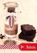 Geschenk in een pot - Brownies
