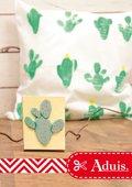Cactus foamstempel zelf maken