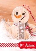 Kleine sneeuwpop