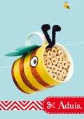 Bijenhotel in een beker