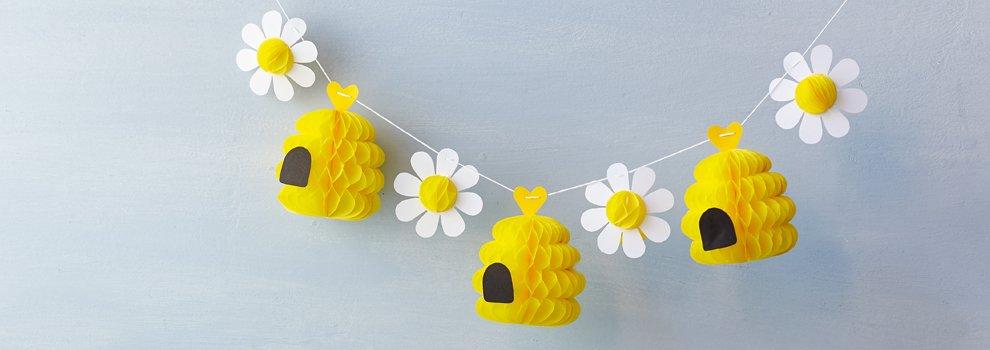 Bijen feestslinger