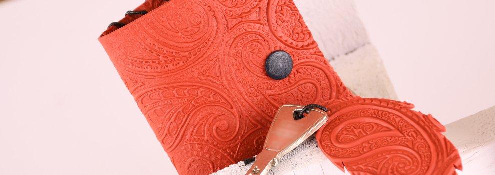 Fimo Leather portemonnee