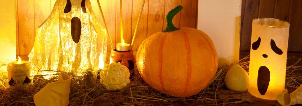 Halloween decoratieve pompoen