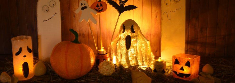 Halloween gips-spook