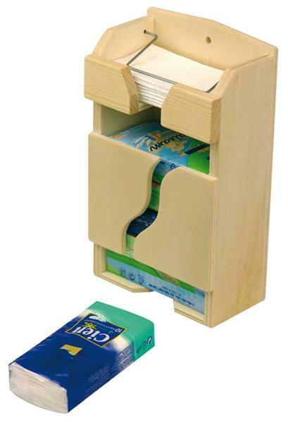 Box voor papieren zakdoekjes