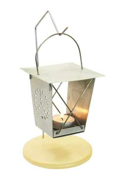 "Lanterne en métal ""ver luisant"""