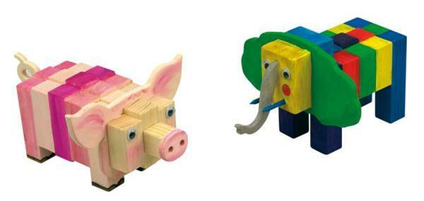 Elefant oder Schwein