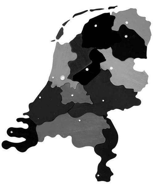 Kartonnen puzzel Nederland