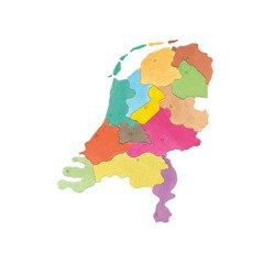 Puzzle Pappkarton - Provinzen der Niederlande