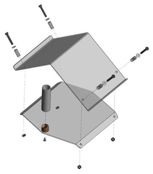 Plexiglas - GSM station