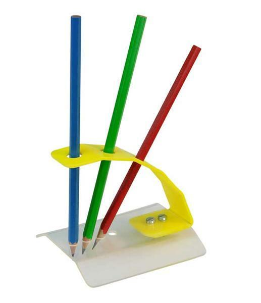 Le porte-crayon en plexiglas