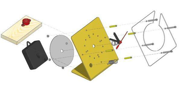 Plexiglas - chronograaf