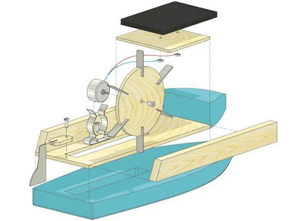 """Solarboot """"Pluto"""" oder """"Uranus"""""""