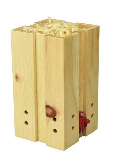 Ventilateur d'ambiance en bois de pin