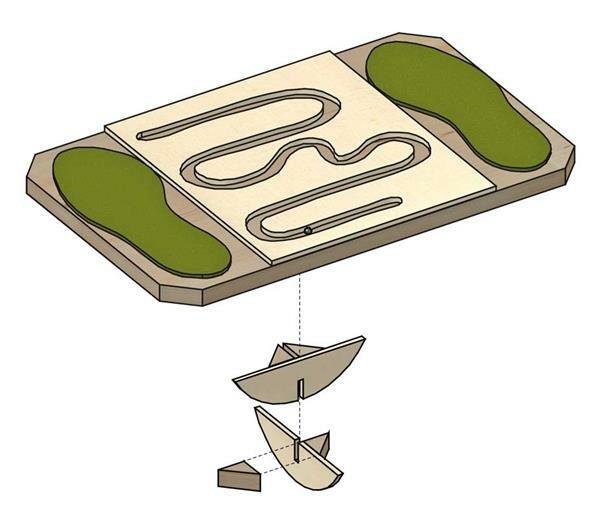 Balanceboard - wiebelbord