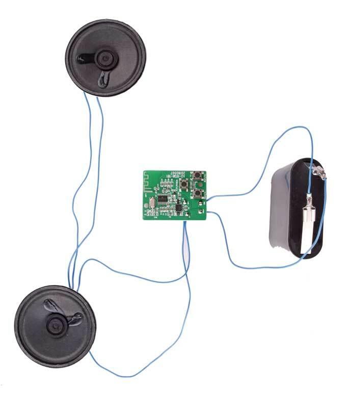 Bluetooth Box aus Zirbenholz